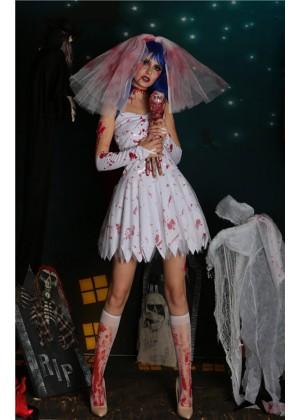 zombie bride costumes lb2101