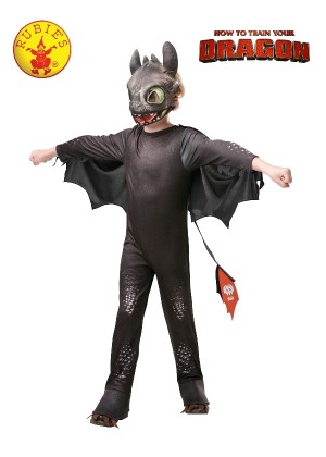 How to Train Your Dragon 3 Toothless Night Fury Child Boy Licensed Costume halloween The Hidden World