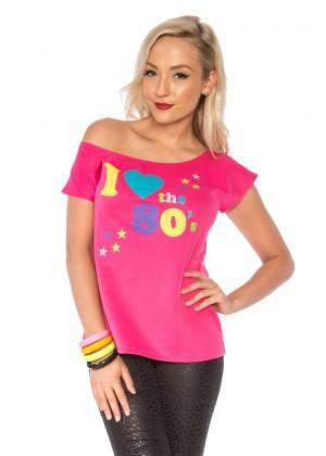 80s costume t-shirt lh194_1