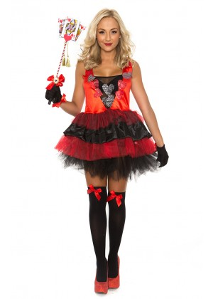 Alice In Wonderland Costumes - Ladies Queen of Hearts Alice in Wonderland Costume