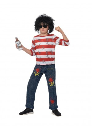 DAVID WALLIAMS COSTUME BOOK WEEK CHILDREN BOY DELUXE RATBURGER COSTUME