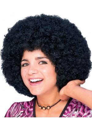 Afro Black 60s 70s Disco Pimp Hippie Costume Men Women Wig