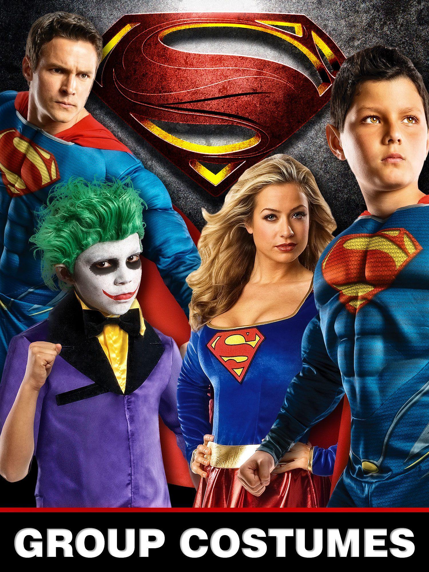 Superman Couple Costumes