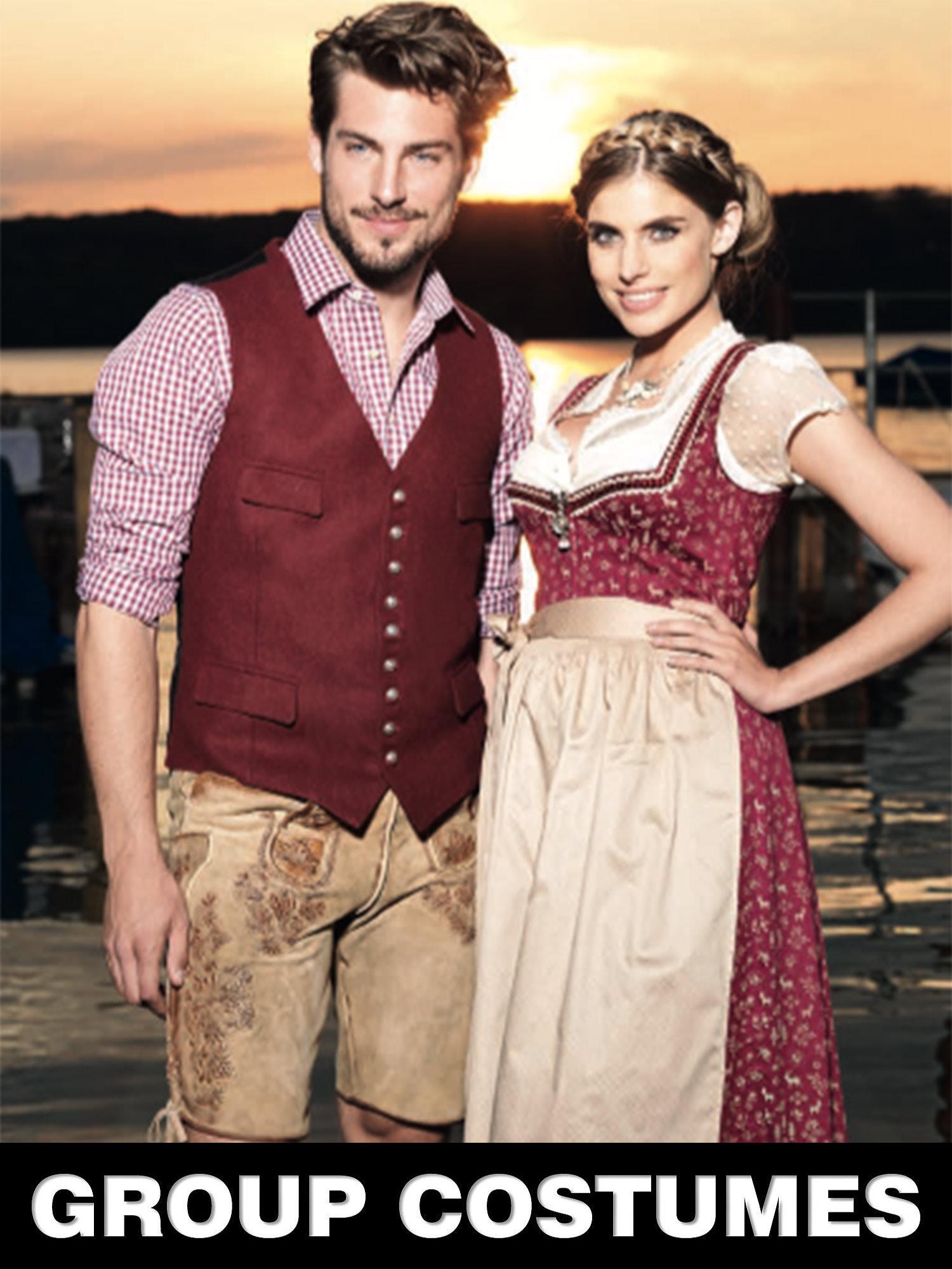 Couple Oktoberfest Costumes